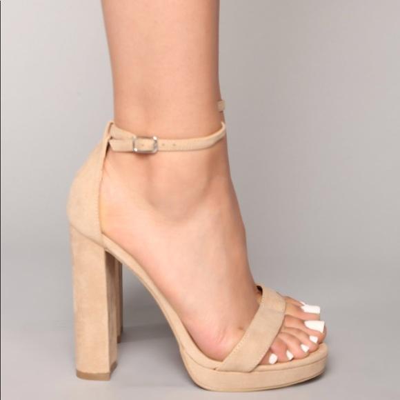 0d41915470f4 Fashion Nova Shoes - Fashion Nova Your Biggest Fan Nude Heel